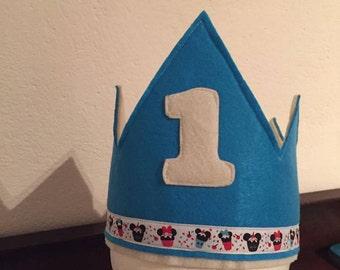 Personalised felt Crown