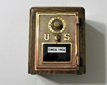 Post Office Box 1906 Door  Bank  Combination Lock
