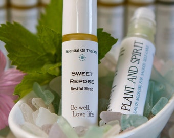Sleep, insomnia, dreaming, essential oil roll on, calming, relaxing,  SWEET REPOSE