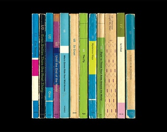 U2 'Achtung Baby' Album As Penguin Books Poster Print Literary Print