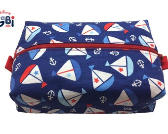 Cosmetic bag, pouch for makeup, travel bag, toiletries storage, pencil case, diaper bag accessory