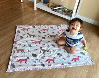 Tummy time mat toddler play mat