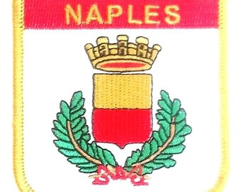 Naples Embroidered Patch