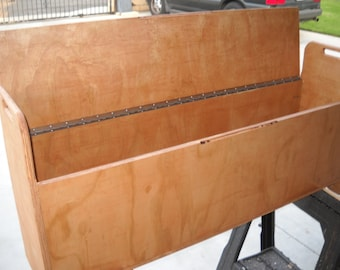 "Plywood Storage Bench. 12"" deep and 12"" wide in various lengths"