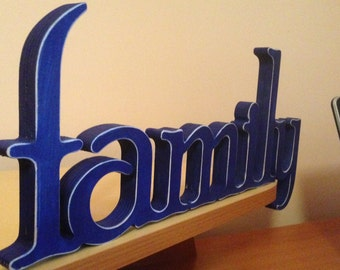 family sign. Family wood sign. Wall sign Family. Family sign.