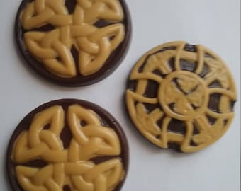 Chocolate celtic cross