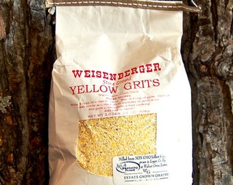 Weisenberger Stone Ground Yellow Grits