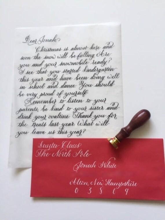 Santa letter santa claus letter christmas letter santa spiritdancerdesigns Choice Image