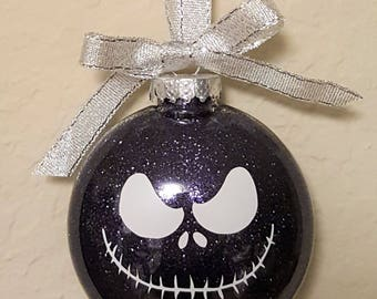 Personalized Jack Skellington Disc Ornament | Nightmare Before Christmas