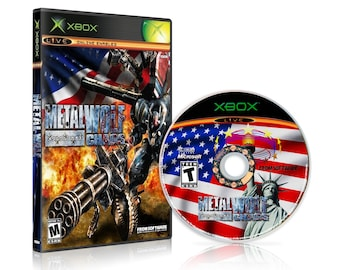 Metal Wolf Chaos Reproduction for the Original Xbox