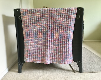 Wool Baby Blanket (Hand Knitted)