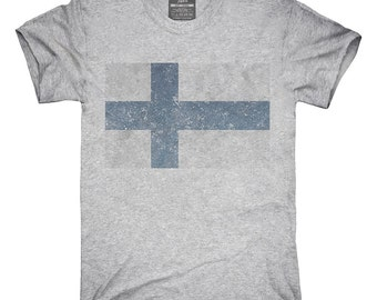 Retro Vintage Finland Flag T-Shirt, Hoodie, Tank Top, Gifts