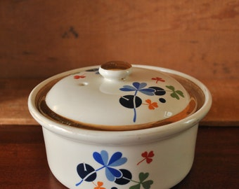 Vintage Hall Golden Clover Small Casserole Dish