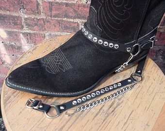 Western Boot BOOT CHAINS Ladies Crystal Rhinestones NP