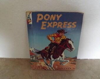 Rand McNally Elf Book  Pony Express
