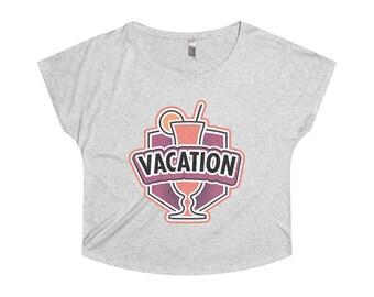 Vacation Badge Dolman