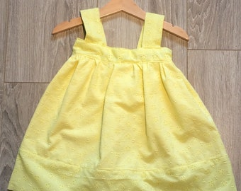 Dress 18 months - 2 years lemon collection