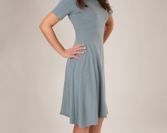 Sweet Simplicity T Shirt Dress - Organic Fabric Made to Order