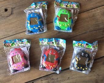 Vintage Tamagotchi Toys, 5 Colors, 90s Keychain, 90s Games, 90s Nostalgia