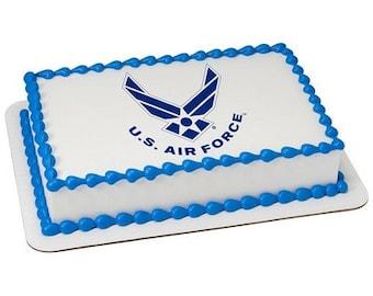 U.S. Air Force Edible Image