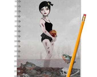 Lolita Notebook - Lolita Journal - LINED OR BLANK pages, You Choose