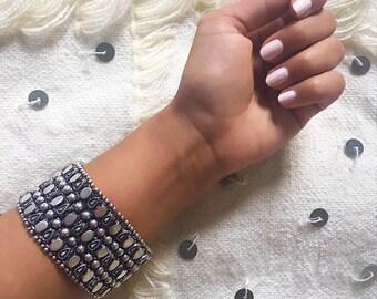 Bohemian Bracelet, Gypsy Bracelet, Moroccan Jewelry, Moroccan Bracelet, Boho Bracelet, Statement Bracelet, Berber Bracelet, Morocco Bracelet