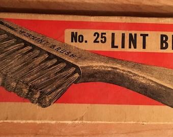 Vintage Lint Brush