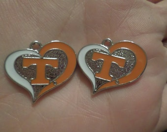 Set of 2 UT Charms