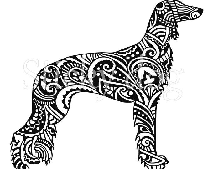 Saluki persian patron sticker