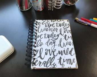 Inspirational Words Journal
