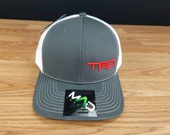 TRD Toyota Cap, Custom Made Hat, trd hat, toyota trd, toyota truck, tacoma, toyota, toyota 4 runner, tundra, embroidered hat, richardson 112