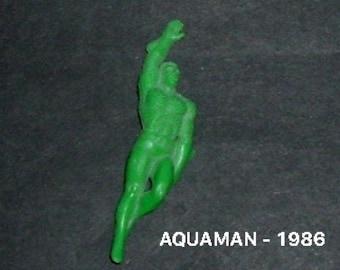 AQUAMAN PLASTIC TOY 1986 (Used)