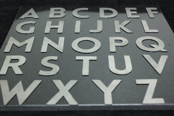 Small Metal Letters For Signs Awesome Metal Letters L Small Metal Letters Metal Numbers Custom Decorating Design