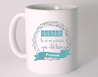 GODFATHER GIFT CERAMIC MUG