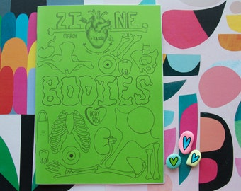 Bodies - A unique and collectible body positive zine. Made in Australia.