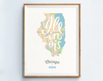 Chicago Print - Chicago Art - Chicago Poster