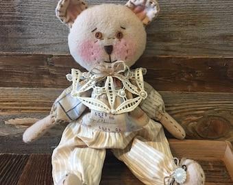 Handmade Sue Bear Doll