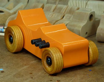 Wooden Toy Car, 27 Ford T-Bucket, Hot Rod, Race Car, Street Rod, Dragster, Speedster, Rat Rod, Toys For Boys, Toys For Girls, Toys For Kids