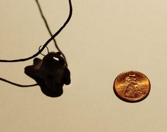 Polymer Clay Sea Seal Pendant, Necklace, Jewel, Handmade