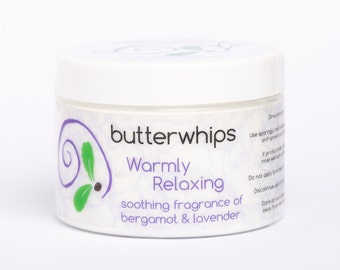 Warmly Relaxing Organic Body Butter