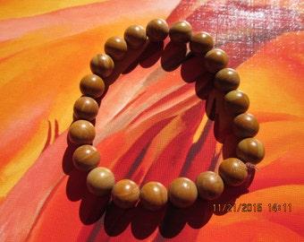 162  round bayong wood 10mm beaded handmade bracelet-Mens round bayong wood bracelet-Teens round bayong wood bracelet-Womens round bayong