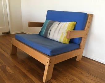 Wide Beech Chair
