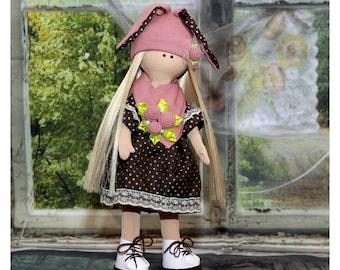 Acrylic Yarn Doll - Handmade Doll - Fashion Doll - Crochet Doll - Amigurumi Doll - Gift For Girls - Birthday Gift For Girls - Handmade Toy