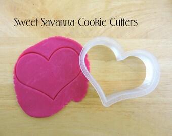 Heart Cookie Cutter No6