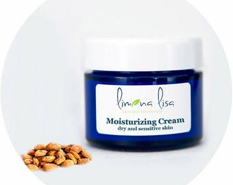 Moisturizing Cream for dry and sensitive skin by Limona Lisa - natural cosmetics