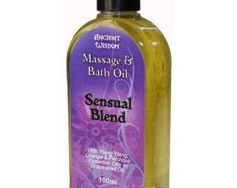 Sensual 100ml Massage Oil