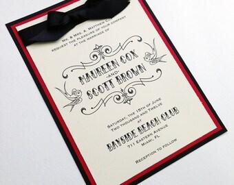 Inked - Tattoo Wedding Invitations
