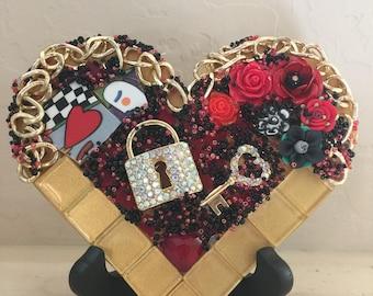 Mosaic Heart Secret Love