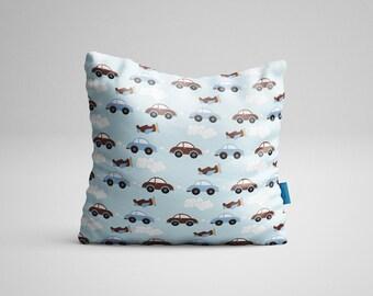 Cushion Cushion Baby Cars. Born cushion. 35x35cm/Future Gift Breast/cushion Boho/animal cushion/decoration Baby room.