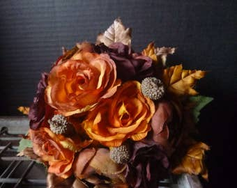 Autumn Bridesmaid Bouquet